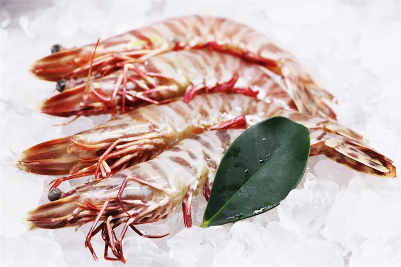 冷冻老虎虾